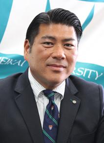 明海大学体育会 会長 中川 仁