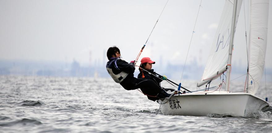 明海大学 ヨット部
